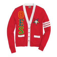 Order of the Eastern Star Varsity Cardigan