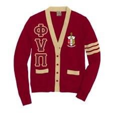 Phi Nu Pi Varsity Cardigan