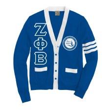 Zeta Phi Beta Varsity Cardigan