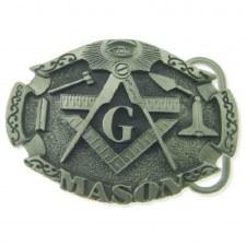 Mason Crest Belt Buckle