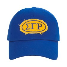 Sigma Gamma Rho Distressed Cap