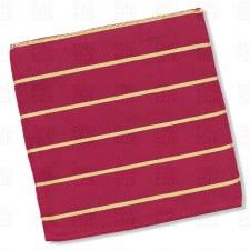 Kappa Alpha Psi Striped Pocket Square
