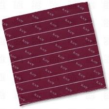 Kappa Alpha Psi Letters Pocket Square