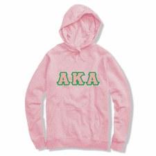 Alpha Kappa Alpha Applique Letters Hoodie