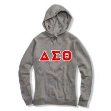 Delta Sigma Theta Applique Letters Hoodie