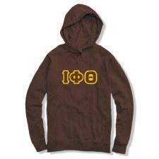 Iota Phi Theta Applique Letters Hoodie