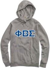 Phi Beta Sigma Applique Letters Hoodie