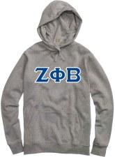 Zeta Phi Beta Applique Letters Hoodie