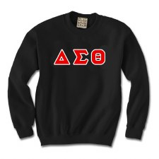 Devastating Diva Applique Letters Crewneck Sweatshirt