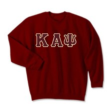 Kappa Alpha Psi Applique Letters Crewneck Sweatshirt