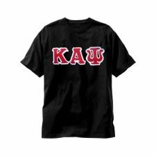 Kappa Alpha Psi Applique Letters Tee