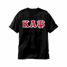 Kappa Alpha Psi Applique Letters Tee