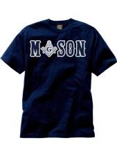 Mason Applique Letters Tee