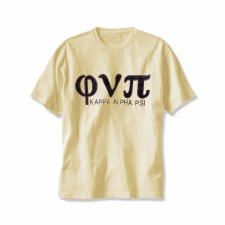 Phi Nu Pi Applique Letters & Organization Tee