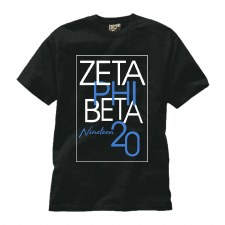 Zeta Phi Beta Staggered Box Tee