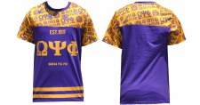 Omega Psi Phi Sub Football Jersey