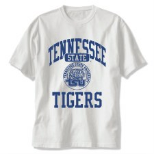 Tennessee State University Seal Tigers Tee