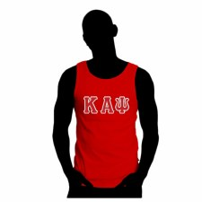 Kappa Alpha Psi Applique Letter Tank