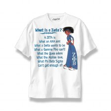 What is a Zeta Phi Beta Tee