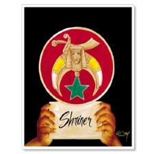Shriner Pride & Dignity Portrait Print