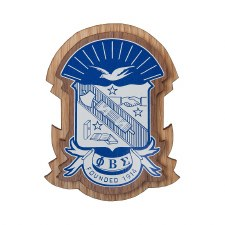 Phi Beta Sigma Wooden Raised Decal