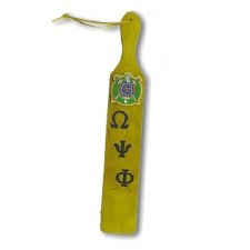 Omega Psi Phi 22' Wooden Paddle