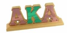 Alpha Kappa Alpha Letters Desk Topper
