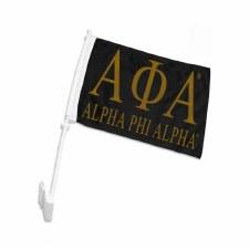 Alpha Phi Alpha Car Flag