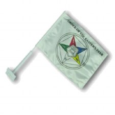 Order of the Eastern Star Car Flag