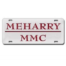 MeHarry Medical College Car Tag