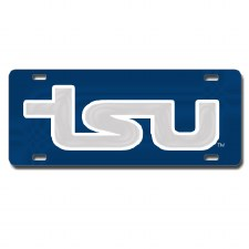 Tennessee State University Outlined Mirror Car Tag