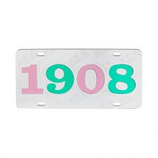 Alpha Kappa Alpha Etched Year Tag