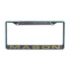 Mason Chrome Car Tag Frame