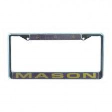 Mason Chrome Car Tag Frame