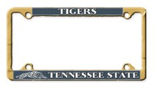 Tennessee State University Brass Car Tag Frame