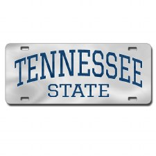 Tennessee State University Arch Letters Car Tag