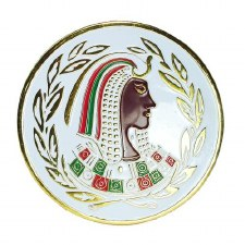Order of the Easter Star Daughter of Isis Car Emblem