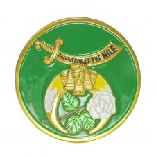 Order of the Easter Star Daughter of the Nile Car Emblem