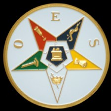 Order of the Easter Star Shield Car Emblem