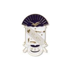 Phi Beta Sigma Die Cut Shield Car Emblem