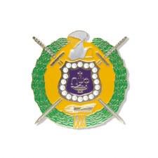 Omega Psi Phi Die Cut Shield Car Emblem