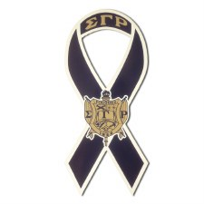 Sigma Gamma Rho Ribbon Car Magnet