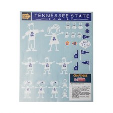 Tennessee State University Family Decal