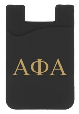 Alpha Phi Alpha Silicone Card Holder