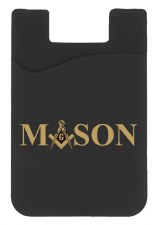 Mason Silicone Card Holder
