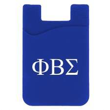 Phi Beta Sigma Silicone Card Holder