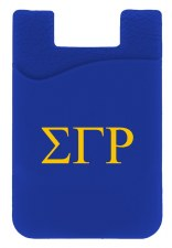 Sigma Gamma Rho Silicone Card Holder