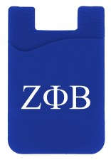 Zeta Phi Beta Silicone Card Holder