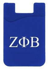 Zeta Phi Beta Silicone Card Holder