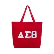 Delta Sigma Theta Jumbo Tote Bag